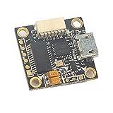 Flight Controller con OSD Buck-Boost Converter per Micro FPV Running Drone (Colore: Nero)