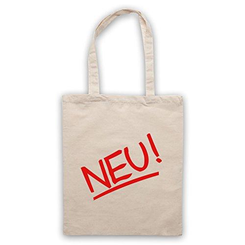 Inspiriert durch Neu Band Logo Inoffiziell Umhangetaschen Naturlich