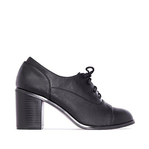 """Andres Machado - AM 5104 - """"Oxford-Schuhe"""" in Soft Braun Schwarz"""