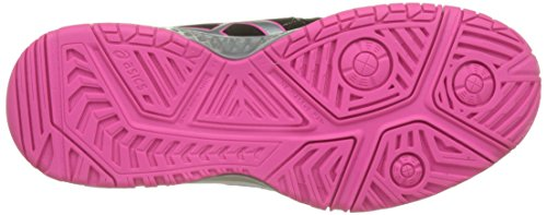 Asics Gel-Resolution 7, Chaussures de Tennis Femme Multicolore (Blacksilverhot Pink)