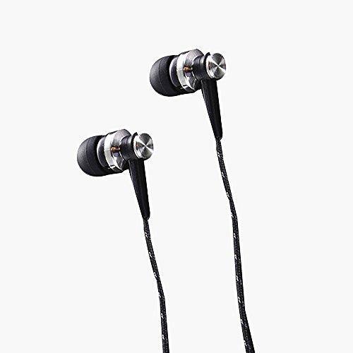 Preisvergleich Produktbild Kopfhörer In Ear Kopfhörer bass,  Dewanxin in ears kopfhörer kopfhoerer in ear bass inklusive Mikrofon Rufannahmetaste für iPhone,  Android,  MP3 und so weiter-Eine Vielzahl von Farben kann ausgewählt werden (Schwarz)