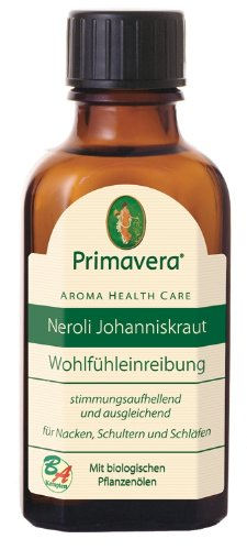 Primavera Neroli Johanniskraut Einreibung, 50 ml