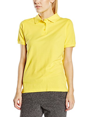 James & Nicholson - Polo - Maternité - Col Polo Femme Jaune (yellow)