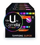 U by Camelia Tampons Super, 12er Pack (12 x 32 Stück)
