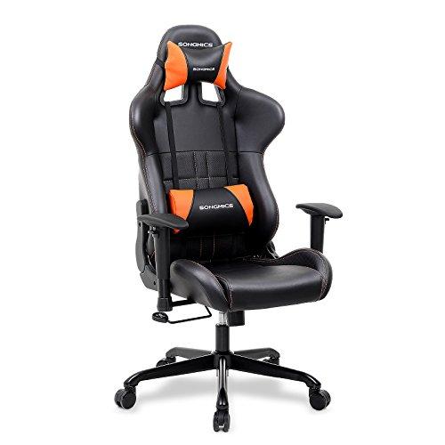 Le meilleur rapport qualité/prix : la chaise de bureau Songmics RCG32J