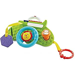 Fisher-Price Rolling and Strolling Dashboard, New-born Activity Toy with Music Sounds   5