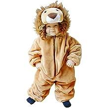 F57 Taglia 2-3A (92-98cm) Leone costume per neonati e bambini, indossabile comodamente sui vestiti normali
