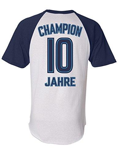Geburtstags Shirt Champion 10 Jahre Junge Geburtstags T Shirt
