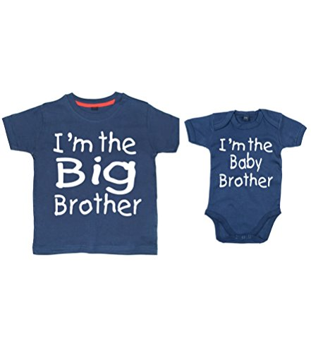 edward-sinclair-ensemble-t-shirt-bleu-marine-texte-im-the-big-brother-combinaison-pour-bebe-bleu-mar