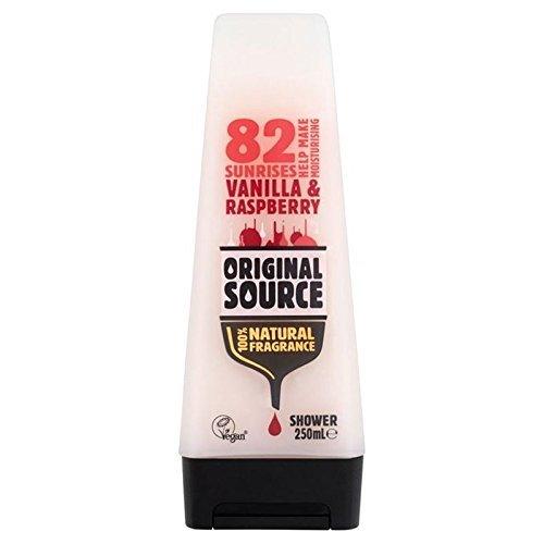 Originalquelle Vanille-Himbeer-Befeuchtende Duschgel 250 Ml