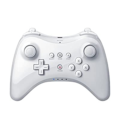 QUMOX Wireless Controller Gamepad Joypad Remote for Nintendo Wii U Pro, White from QUMOX