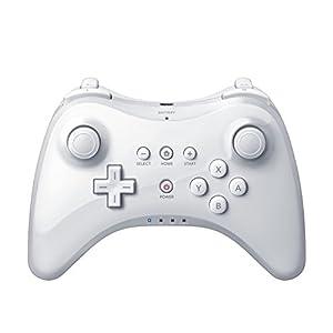 QUMOX Wireless Controller Gamepad Joypad Fernbedienung für Nintendo Wii U Pro, Weiß