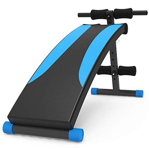 Sit-up board Xinjin Panca Multifunzione con manubri, Panca inclinata Regolabile, Oltre 180 ° Stretching, Rotazione a 360 °, Allenamento Regolabile Panca Multifunzione da Allenamento Addominale