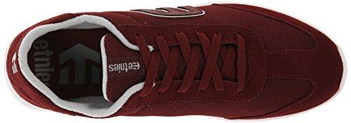 Etnies Lo-Cut Sc, Chaussures de skateboard homme Rouge - Bourgogne