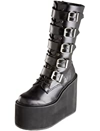 Demonia Swi220/B/Pu, Women Warm Lining Ankle Boots