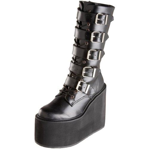 Demonia - SWING-220, Scarpe col tacco da donna, Black (Black), 38