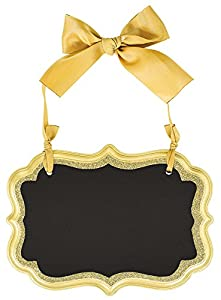 "Amscan International-241445""Marquee juego de decoración con purpurina, dorado"