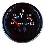 Wassertemperatur Anzeige 52mm Retro Oldschool Zusatzinstrument Zusatzanzeige Instrument universal