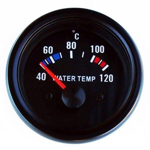 Preisvergleich Produktbild Wassertemperatur Anzeige 52mm Retro Oldschool Zusatzinstrument Zusatzanzeige Instrument universal