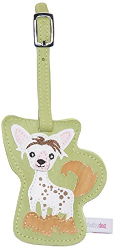 FouFou Dog 90020 Luggage Chinese Crested Geschenkidee Kofferanhänger -