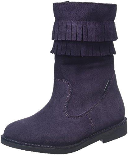 Ricosta Dascha, Bottes courtes avec doublure chaude fille Violet - Purple (Blackberry 381)