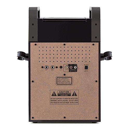 auna KA8P-V2 BK • Karaoke Anlage • Kinder Karaoke Player • Karaoke Set • 3,5 Zoll TFT-Display • 2 x dynamisches Mikrofon • integierter Lautsprecher • Video-Ausgang • CD+G-Player • CD-Player • MP3-fähig • Echo Effekt • A.V.C. Funktion • AUX-Eingang • schwarz - 5