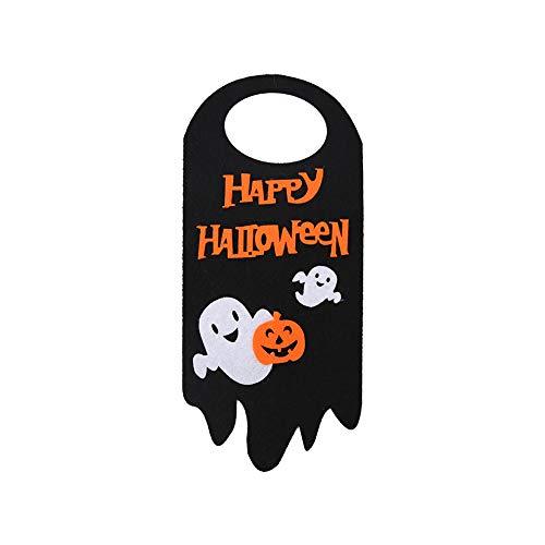 (Asien Halloween Tür-Zeichen Chic Trick or Treat Aufhänger Hallow hängende Dekoration für Indoor (Geist))