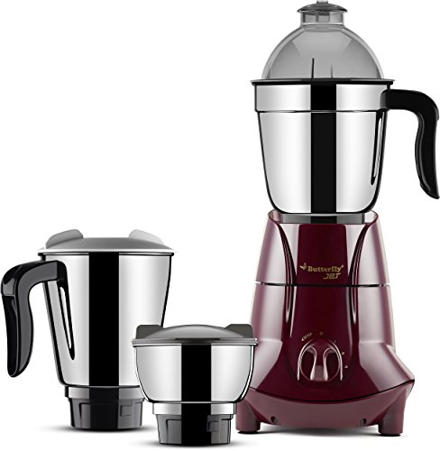 Butterfly Jet 750-Watt Mixer Grinder with 3 Jars (Cherry)  available at amazon for Rs.3073