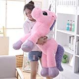 Besties Big Size Funny Unicorn Stuffed Animal Plush Toy,100CM (Pink) 100% Safe for Kids Made in India.