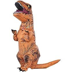 Jurassic World - Disfraz hinchable T-Rex infantil, talla única (Rubie's Spain 610821)