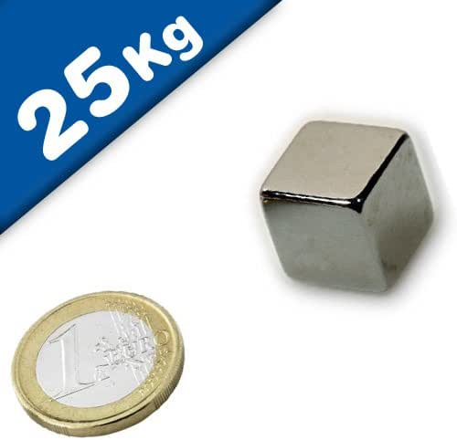 5 Strong Magnets 5X5X5 mm Cube Neodymium 1100Gram Pull Rare Earth Block Magnetic