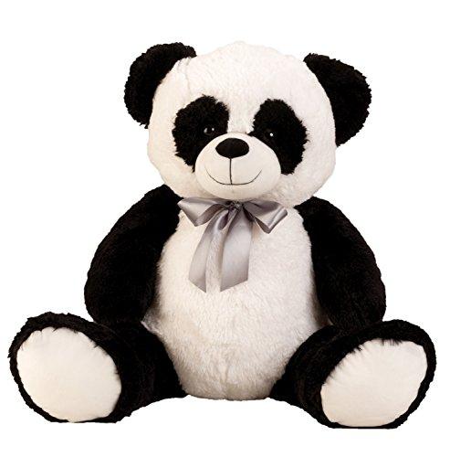 Lifestyle & More Panda géant XL Cuddly 80 cm en Peluche Grand Animal en Peluche Panda veloutée - pour l'amour