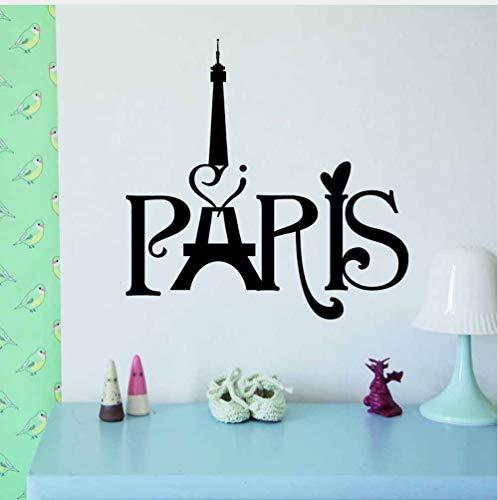 Paris Eiffelturm Wandbehänge Wohnzimmer Schlafzimmer Hintergrund Dekoration 8511 Wandaufkleber Ausgangsdekor