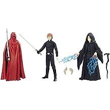 Pack 3 figuras Star Wars Episodio VI, 10 cm Force Link 2016, Hasbro