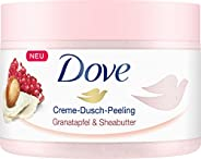 Dove Exfoliating Body Polish Scrub With Pomegranate Seeds And Shea Butter, 225 ml