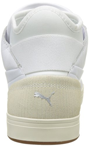 Puma Play Citi, Sneakers Basses Mixte Adulte Blanc (Puma White-whisper White 02)