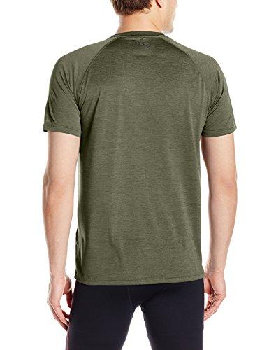Under Armour Herren Fitness T-Shirt UA Tech Tee Grün (Downtown Green)