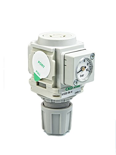 CKD R1000 Luftfilter Druckminderer Druckregler Manometer 1/4