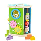QXMEI Giocattoli Per Bambini MEI Giocattoli Per Bambini Giocattoli Educativi In legno Giocattoli Di Combinazione Per Lo Sviluppo Intellettuale Formato Prodotto: 6.7pollices * 7.8pollices