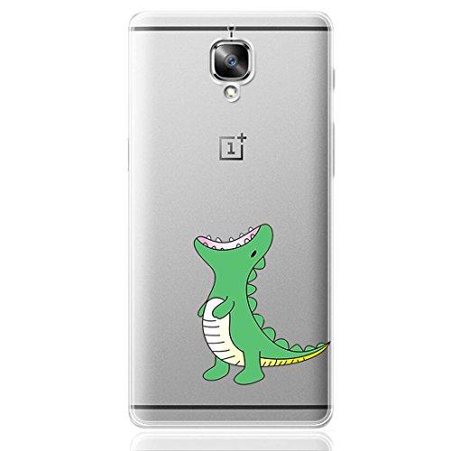 ocketcase OnePlus 3T / OnePlus 3 Hülle, TPU Schutzhülle Tasche Case Cover Kratzfest Weich Silikon Schutz Shell Flexibel Gel Bumper für OnePlus 3 / OnePlus 3T(Farbe 02) + Gratis Universal Eingabestift -