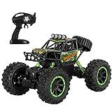 Bescita MD811 - Automobile radiocomandata per esterni, scala 1:16, 2,4 G, 4 ruote, ruote Crawler, Off-Road Monster Auto 6 km/h RTR Buggy
