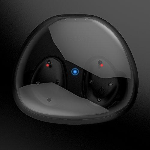 Kapazitiver Sensor Taste, In Ear wasserdichter Bluetooth Kopfhörer, leicht, bequem, Stereo Toneffekt, noise cancellation und Lärmminderungstechnik mit eingebautem Mirkfon - 8