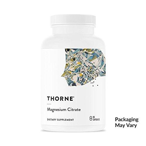 Thorne Research–Magnésium Citrate Santé alimentaire–90capsules
