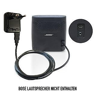 ABC Products® Ersatz Bose 5V / 5 Volt Micro USB Akku Ladegerät, ladekabel, Netzteil, Netzadapter, Netzanschluss für Soundlink Color, Colour, Mini II, Mini 2, Revolve 360 Bluetooth Lautsprecher Speaker