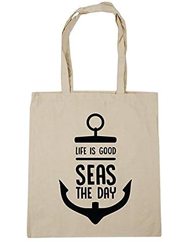 Sea Captain Hat - HippoWarehouse, Sac de plage Femme - beige