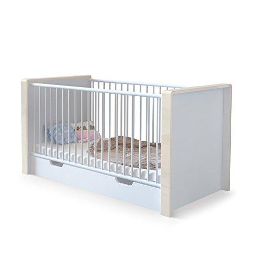 Lit bébé évolutif Nandini avec tiroir...