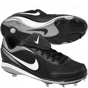 Nike Air Zoom coop V - 330060-011 (9, Black/White) (Nike-softball-schuhe)