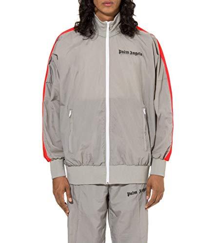 Palm Angels Herren Pmbd014s195070250617 Grau Polyester Sweatshirt Palm Pullover