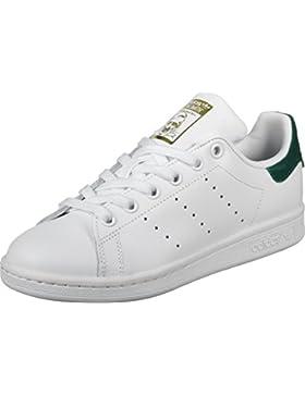 adidas Stan Smith J, Zapatillas de Deporte Unisex niños