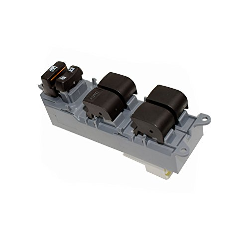 Nouvelle fenêtre de Master Power Switch contrôle avant gauche côté conducteur ajustement Toyotas Yaris 2007 08 09 10 11 12 13 2014/Camrys 2007–2012/2009–2014 RAV4
